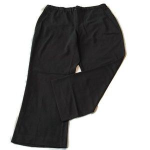 CJ Banks Dress Pants 18W 18 x 28 Inseam Black fall